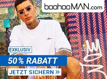 50% Rabatt bei boohooMAN.com