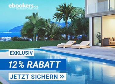 12%  Rabatt bei ebookers