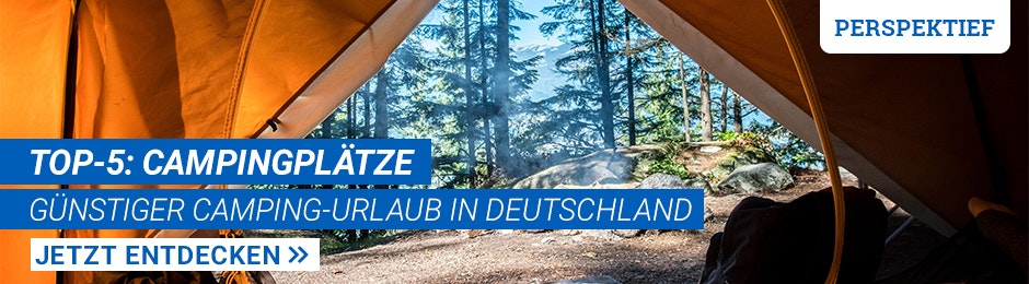 Günstig campen in Deutschland