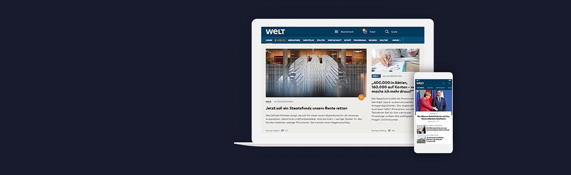WELTplus für 4,99€