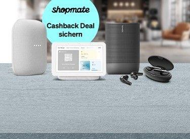 60% Rabatt auf Google, Sonos & Co. + 4,5% Cashback