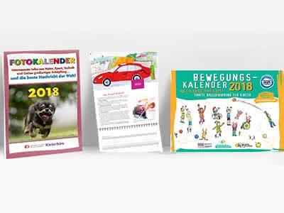 Kostenlose Kalender zum Bestellen und Ausdrucken