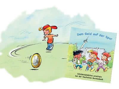 """Kostenloses Kinderbuch """"Dem Geld auf der Spur"""""""