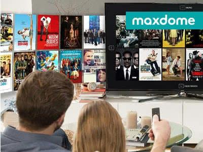 Für Filmfans und Serienjunkies: maxdome-Probemonat gratis sichern