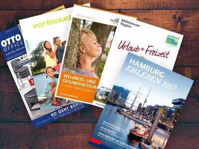 GRATIS Kataloge, Broschüren und Infomaterial bestellen!