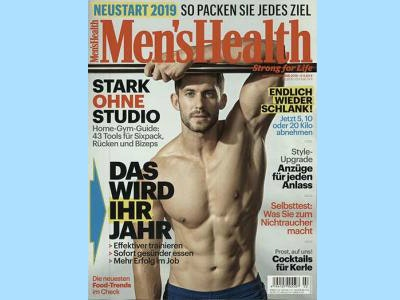 """Unverbindlich testen: Gratis-Ausgabe """"Men's Health"""" ohne Kündigung"""