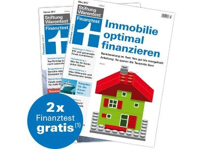 """2 Ausgaben """"Finanztest"""" kostenlos testen"""