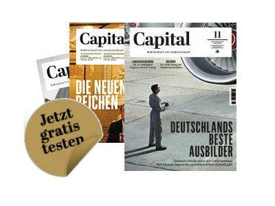 """1 Ausgabe """"CAPITAL"""" kostenlos bestellen"""