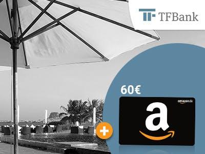 60€ Amazon.de-Gutschein zur TF MasterCard Gold