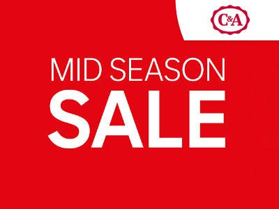 Sale bei C&A: Bis zu 50% sparen + 10% extra mit Newsletter-Rabatt