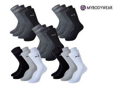 Nur 26,95€ für 15 Paar PUMA Socken bei Mybodywear