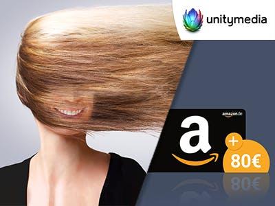 Unitymedia: 2play FLY 400 für 19,99€ mtl.  + 80€ Amazon.de-Gutschein obendrauf