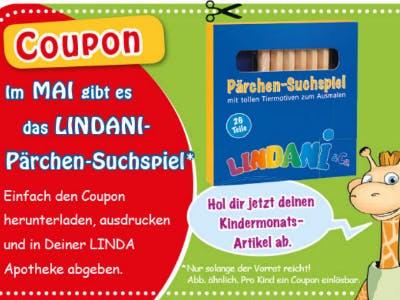 Pärchen-Suchspiel gratis in LINDA Apotheken