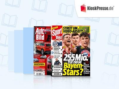 Schnupperabo: 1 von 27 Zeitschriften 3 Monate lang gratis lesen