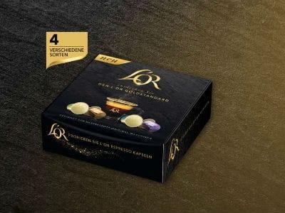 Gratis Probierpaket L'OR Goldstandard für Nespresso-Maschine