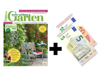 """6 x """"mein schöner Garten"""" für 24€ + 15€ Verrechnungscheck"""