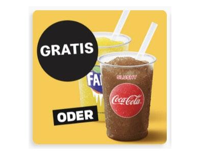 Coca-Cola- oder Fanta-Slushy gratis bei McDonalds