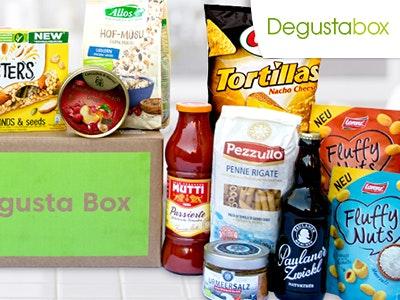 50% Rabatt auf die erste Degustabox + 3 kostenlose Artikel + kostenloser Versand
