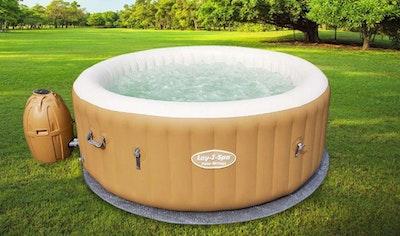 Kaufland verlost einen Outdoor-Whirlpool mit Massage-Funktion