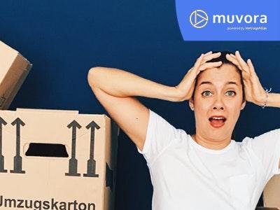 Schluss mit Umzugsstress: nutze jetzt Muvora kostenlos