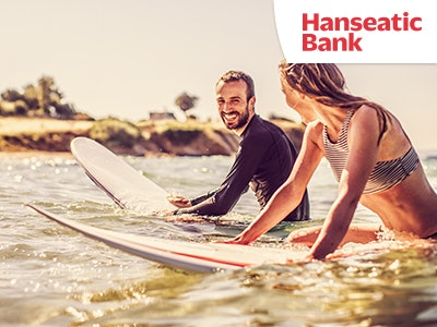 Kostenlose Kreditkarte GenialCard der Hanseatic Bank mit 30€ Bonus*