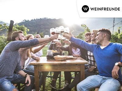 15% Rabatt auf alles bei Weinfreunde