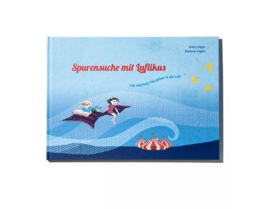 """Kinderbuch """"Spurensuche mit Luftikus"""" gratis bestellen"""