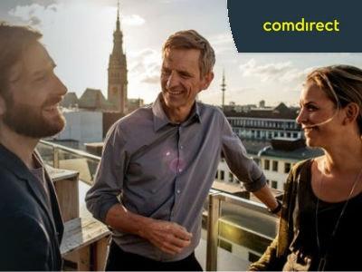 Comdirect Depot eröffnen + 100€ Prämie erhalten