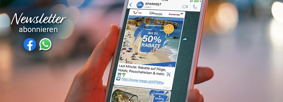 SPARWELT-Deals kostenlos per Messenger