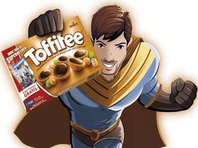 Dein Gratis Superhelden-Poster mit Toffifee Aktionscode
