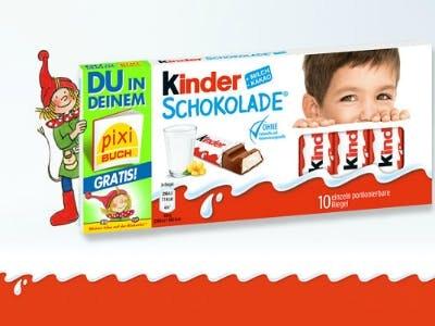 Kinderschokolade kaufen + personalisiertes Pixi-Buch erhalten