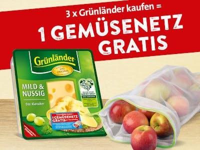 3x Grünländer kaufen, 1 Gemüsenetz gratis