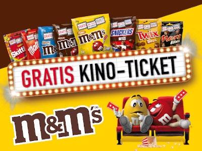 m&m kaufen - Kinoticket gratis!