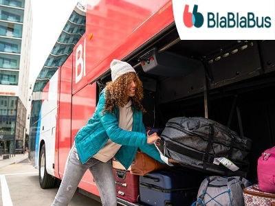 25% Rabatt auf alle Strecken mit BlaBlaBus