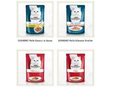 2x Purina Gourmet Katzenfutter-Gratisprobe