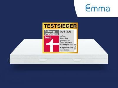 EMMA ONE Matratzen Testsieger 10/2019 für nur 196,45€