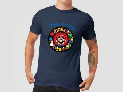 Super Mario Mario T-Shirt für nur 10,44€