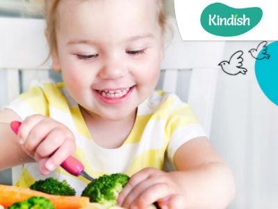 Kindgerechte Mahlzeiten von Kindish mit 50% Rabatt auf die erste Box