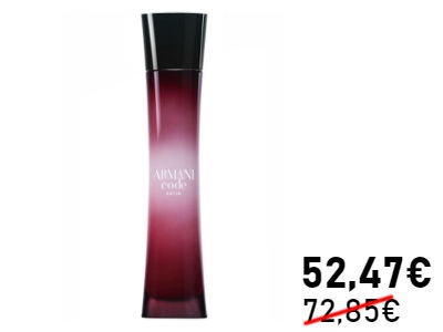 Giorgio Armani Code Femme Satin EdP (75ml) für nur 52,47€