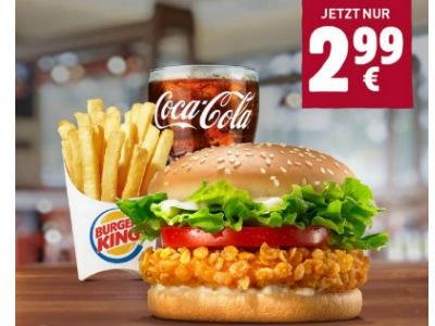 Crispy Chicken + kl. Pommes + kl. Getränk: nur 2,99€ (App)