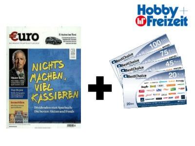 """12 Monate""""€uro"""" Magazin für nur 91€ + 90€ Prämie"""