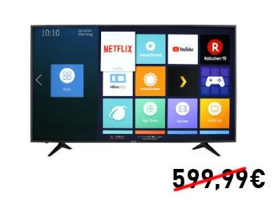 Nur 479€: Hisense H65AE6030 4K TV