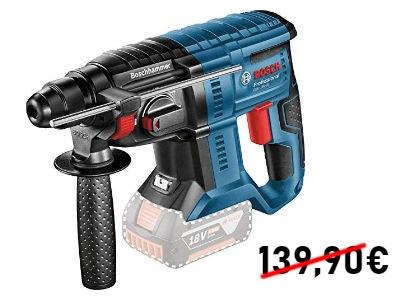 Nur 114,99€: Bosch Professional Bohrhammer GBH 18V-20